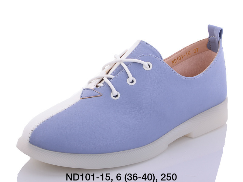 Туфли женские голубые Teetspace-Trasta-Egga-ND101-15