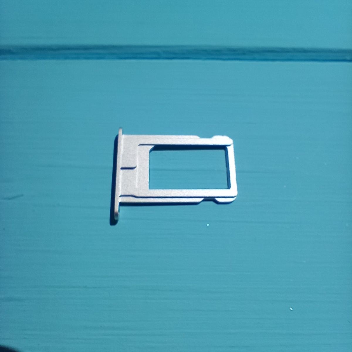 Держатель sim-карты для Apple iPhone 5S White