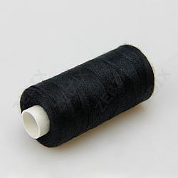Нитки швейные 40/2 Kiwi 400 ярдов черные