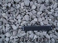 Щебінь гранітний фракції 20÷40 від 40 т.