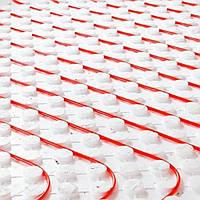Мат теплого пола 15-17мм с фиксатором 1200х600мм (0,72м.кв.) 20мм (25кг/м2) HERZ