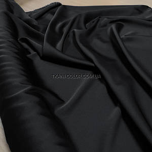 Ткань шелк армани черный