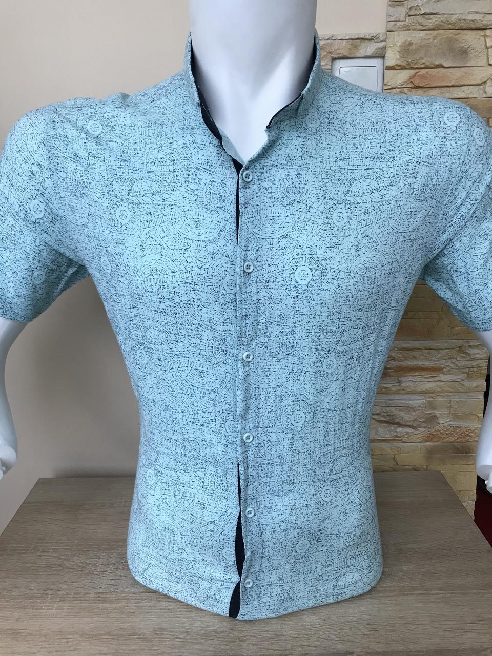 Сорочка з коротким рукавом Pierrini льон