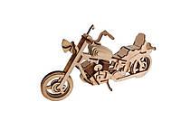 Деревянный 3D-пазл РЕЗАНОК Мотоцикл Harley Davidson 110 деталей REZ0002, КОД: 127656