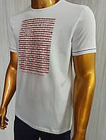 Мужская футболка MCL. Mod.35257(белый). Размеры: M,L,XL,XXL., фото 1