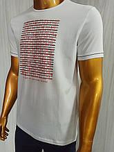 Мужская футболка MCL. Mod.35257(белый). Размеры: M,L,XL,XXL.