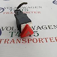 Кнопка аварийной сигнализации аварийки VW Volkswagen Фольксваген Т5 TDI 2003-2014