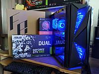Игровой компьютер Intel Core I7 3770 8 потоков 3.9GHZ Видео GTX 1060 6gb ОЗУ 16GB SSD 120 HDD 500