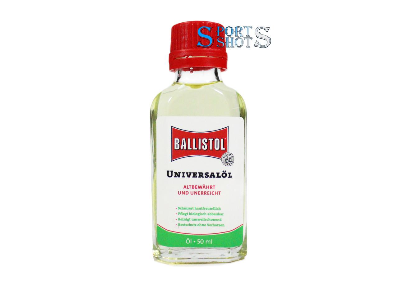 Масло оружейное Klever Ballistol универсальное 50ml в стекле