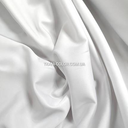 Костюмная ткань коттон мемори белый, фото 2