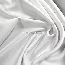 Костюмная ткань коттон мемори белый, фото 3