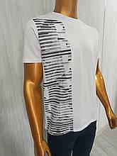 Мужская футболка MCL. Mod.35276(белый). Размеры: M,L,XL,XXL.