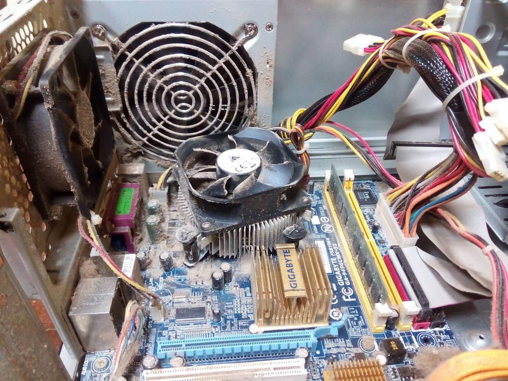 Чистка персонального компьютера