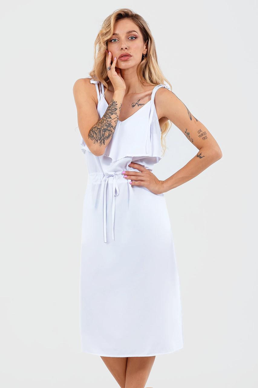 Повсякденне жіноче плаття Janise, білий