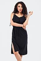 Повсякденне жіноче плаття Janice, чорний