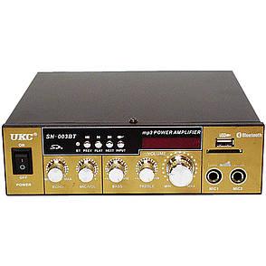 Усилитель звука UKC AMP SN 003 BT, для колонок, переносной, фото 2