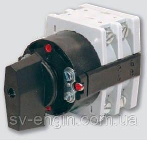 S32J, S250J, S400J - поворотные выключатели