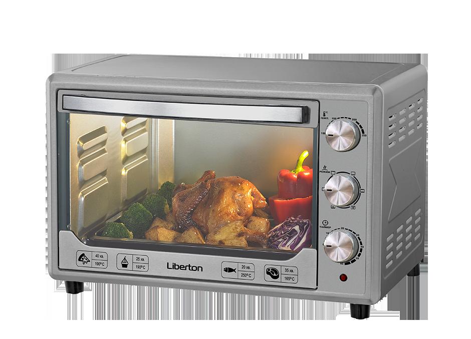 Печь электрическая Liberton LEO-481 Silver