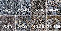 Щебінь гранітний фракції 0÷5 від 40 т. (Гранітний відсів)