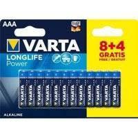 Батарейка VARTA HIGH Energy (Longlife Power) AAA BLI 12 (8+4) ALKALINE LR3 (4903) (за 1шт)