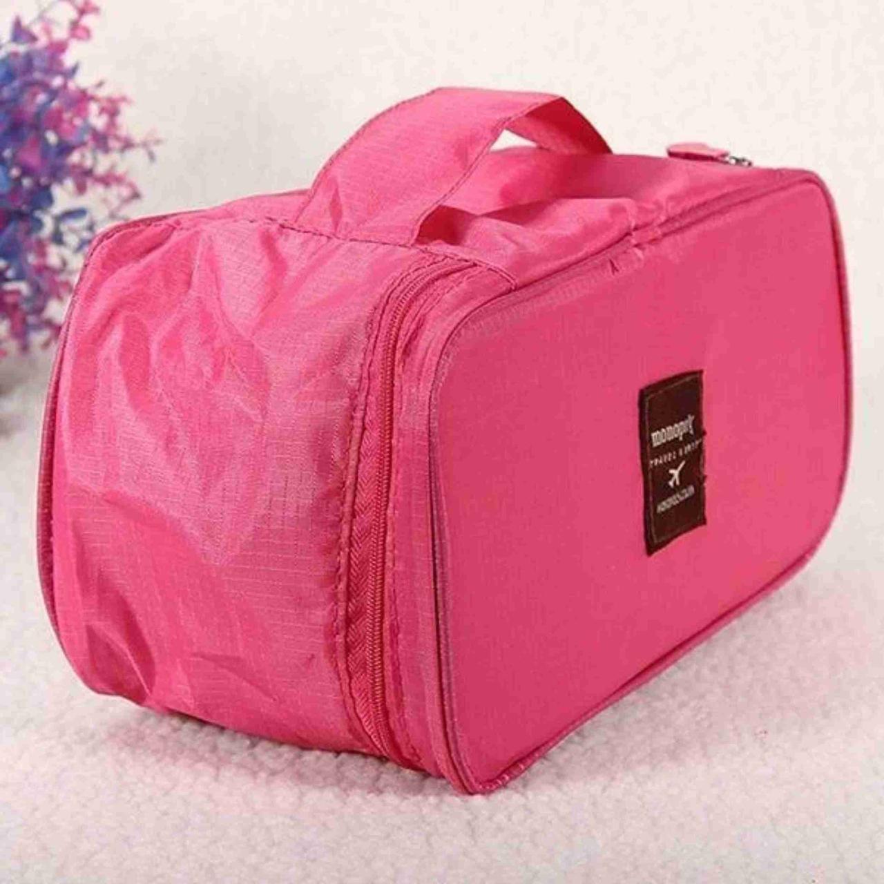 Органайзер для белья Monopoly Travel underwear pouch Розовый Боксы для хранения