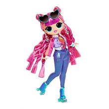 Кукла ЛОЛ Диско-скейтер ОМГ 3 серия LOL сюрприз L.O.L. Surprise! O.M.G. Series 3 Roller Chick Fashion