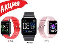 Фитнес-браслет Smart Band T96 с шагомером, пульсометром, термометр, Спортивные наручные умные смарт-часы