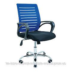 Кресло Флеш черный/синий, Richman