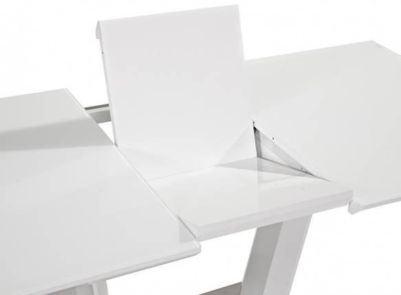 Стол раскладной Lauren 140(180)*85 белый лак ТМ Signal, фото 2