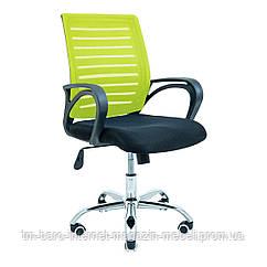 Кресло Флеш черный/салатовый, Richman
