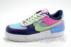Женские кроссовки в стиле Nike Air Force 1 Shadow Mystic, фото 3