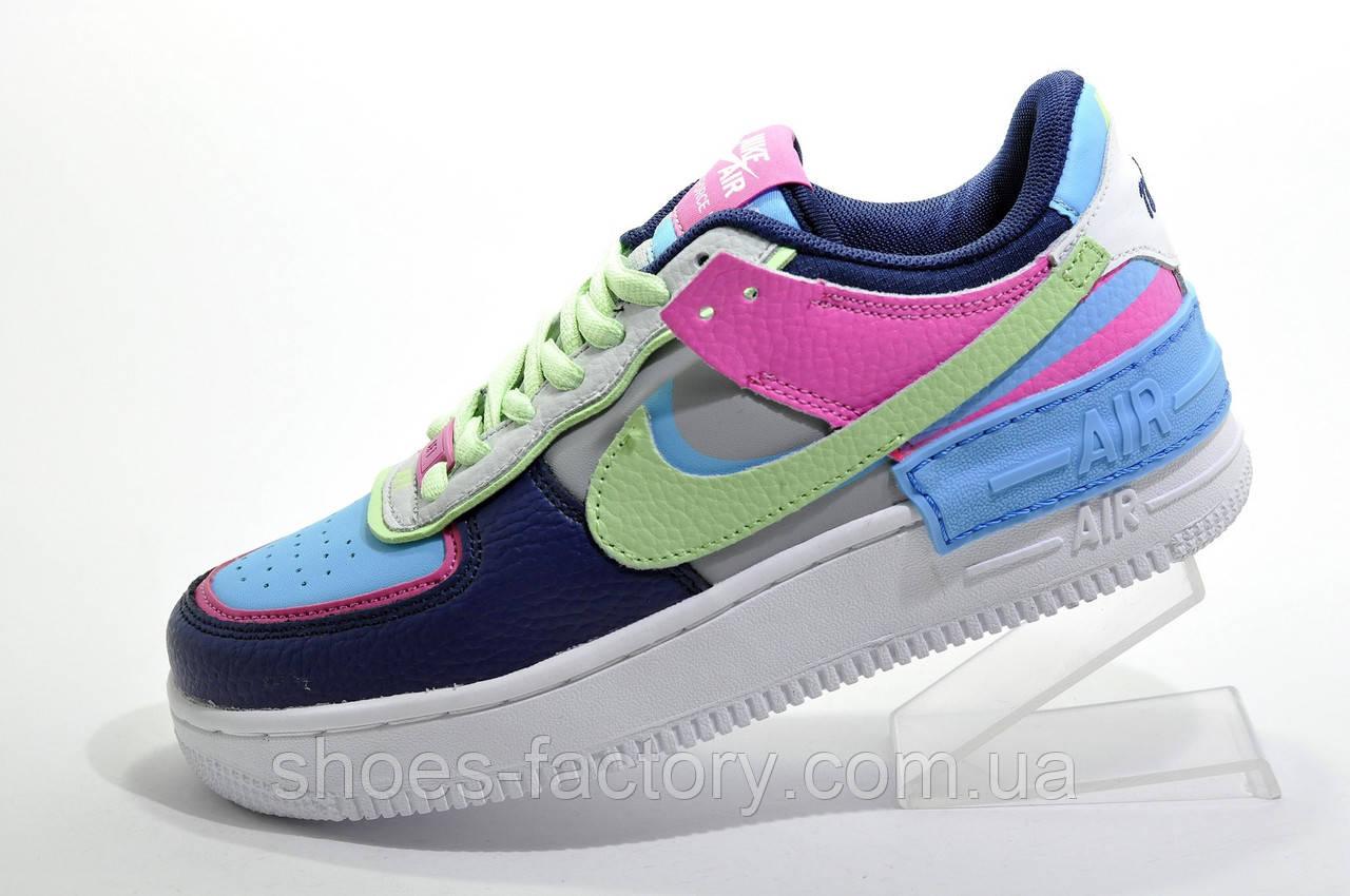Женские кроссовки в стиле Nike Air Force 1 Shadow Mystic