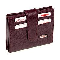 Кошелек для карточек из натуральной кожи BUTUN 131-004-002 бордовый