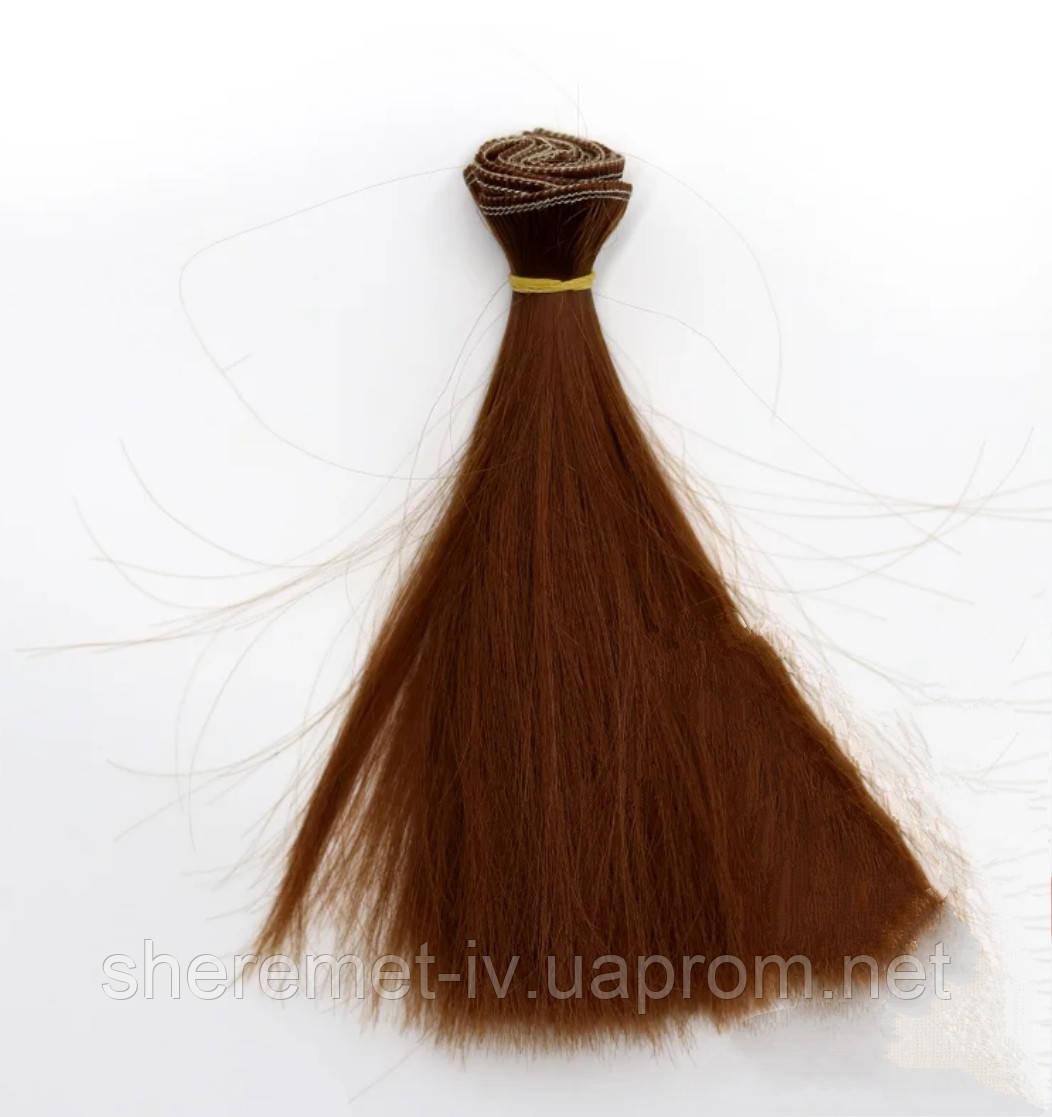 Волосы для кукол витые локоны омбре 15см/~1м