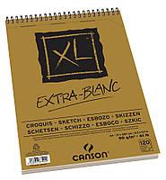 Альбом для эскизов Canson™ XL Croquis Extra White /90 g, A4, 120 листов на спирали/