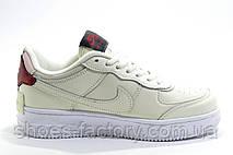 Женские кроссовки в стиле Nike Air Force 1 Shadow Mystic, Beige, фото 2