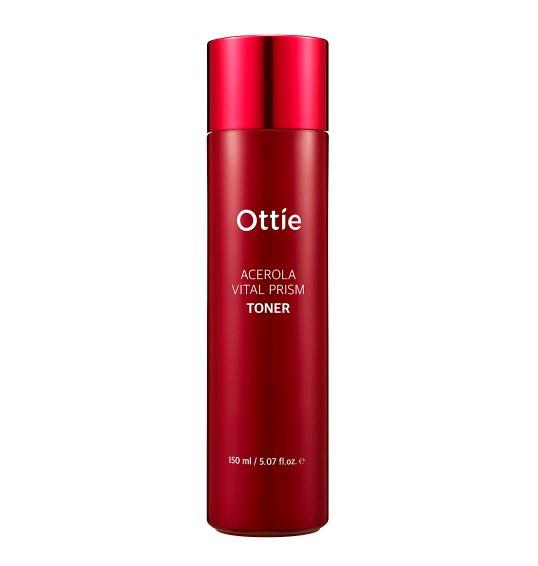 Витаминный тонер с экстрактом ацеролы Ottie Acerola Vital Prism Toner