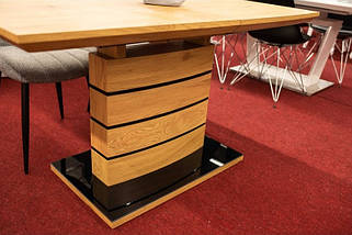 Стол обеденный раскладной Leonardo dab 160(220)*90 ТМ Signal, фото 2