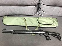 Чехол LeRoy Elite для ружья без оптики 1,4 м Олива, фото 3