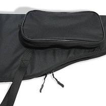 Чехол LeRoy Elite для ружья без оптики 1,1 м Чёрный, фото 2