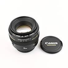 Объектив Canon EF 50mm f/1.4 USM б/у / в магазине