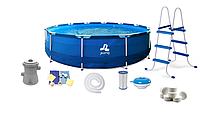 Каркасный бассейн с фильтром Jilong 17542EU 420 x 84 см