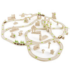 Деревянная дорога Guidecraft Block Science Мосты мира, 155 деталей (G2120R)