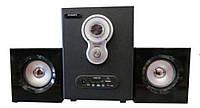 Акустическая система AU-3008 220V+USB+FM+карта памяти