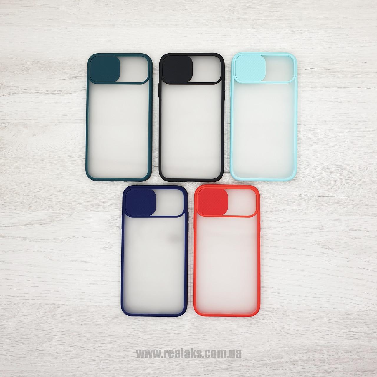 Чохол CASE для Apple iPhone X / XR / XS / XS Max (шторка на камеру) color