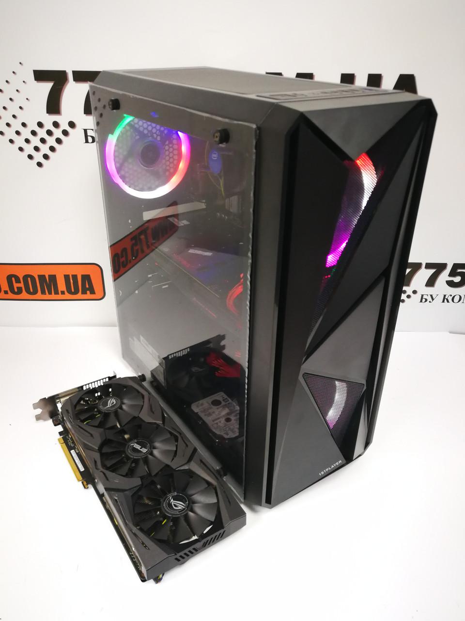Игровой компьютер Intel Core i5-10500 4.5GHz, RAM 16ГБ, SSD 120ГБ, HDD 500ГБ, GTX 1060 6ГБ