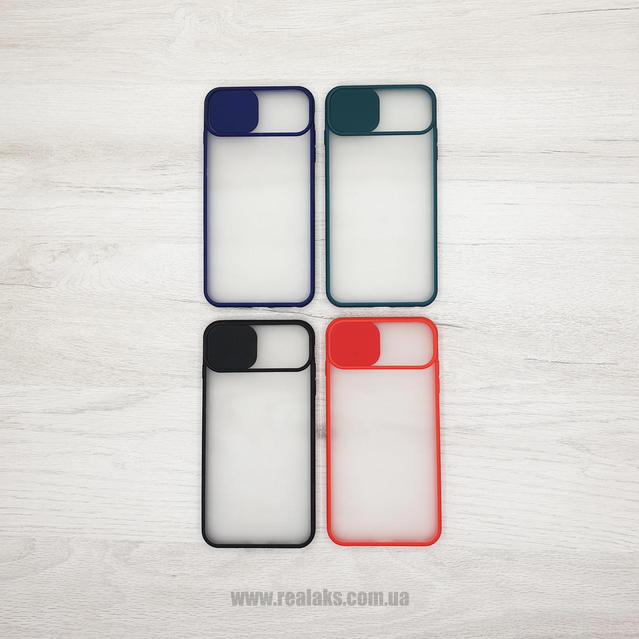 Чехол CASE для Apple iPhone 7Plus / 8Plus (шторка на камеру) color