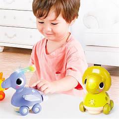 Музыкальная игрушка Hola Toys Трицератопс (6110B)