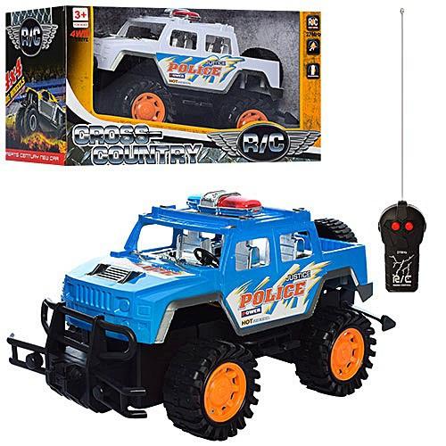 Джип игрушечный на радиоуправлении с пультом на батарейках.Машина детская пластмассовая.