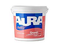 Грунт с кварцевым песком AURA DEKOR GRUND адгезионный 2,5л